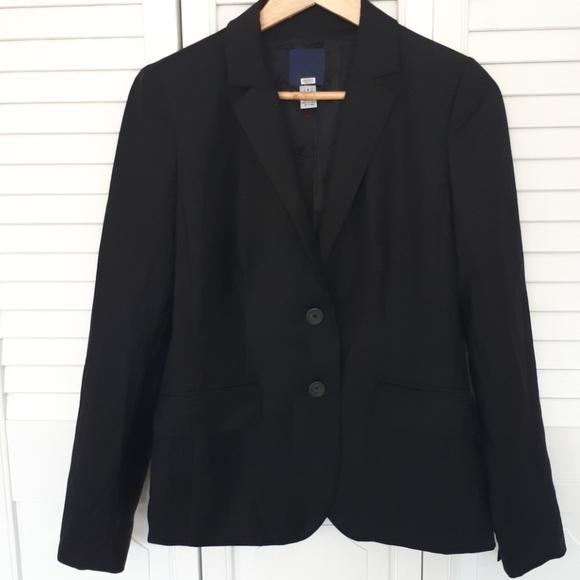 J. Crew Jackets & Blazers - Wool J.Crew blazer. Black size 4